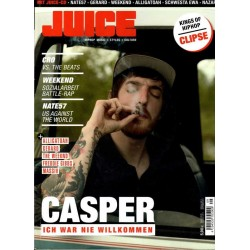 JUICE Nr.153 September 2013 & CD 118 - Casper