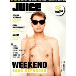 JUICE Nr.154 Oktober/November 2013 & CD 119 - Weekend