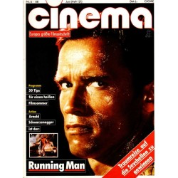 CINEMA 6/88 Juni 1988 - Running Man