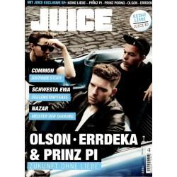JUICE Nr.161 September 2014 & CD - Olson, Errdeka & Prinz Pi