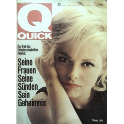 Quick Heft Nr.35 / 29 August 1965 - Virna Lisi