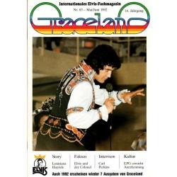 Graceland Nr.83 Mai/Juni 1992 - Elvis und der Colonel