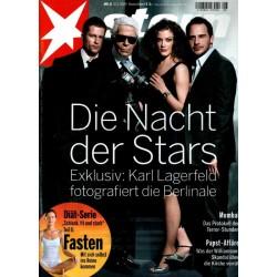 stern Heft Nr.8 / 12 Februar 2009 - Die Nacht der Stars