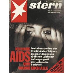 stern Heft Nr.23 / 31 Mai 1990 - Ich habe Aids & warne euch alle
