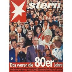 stern Heft Nr.1/90 / 28 Dezember 1989 - Das waren die 80er Jahre