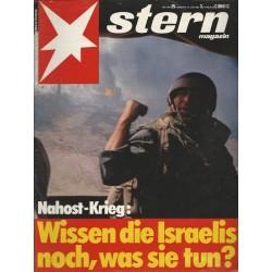 stern Heft Nr.25 / 16 Juni 1982 - Wissen die Israelis noch, was sie tun?
