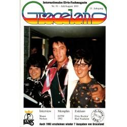 Graceland Nr.91 Juli/August 1993 - Shaun Nielsen