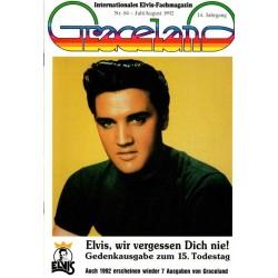 Graceland Nr.84 Juli/August 1992 - 15. Todestag
