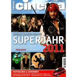 CINEMA 1/11 Januar 2011 - Superjahr 2011