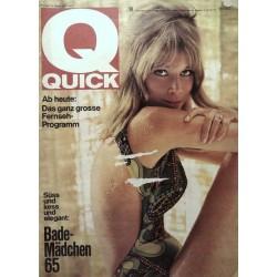 Quick Heft Nr.14 / 4 April 1965 - Bade Mädchen