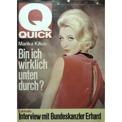Quick Heft Nr.44 / 1 November 1964 - Marika Kilius
