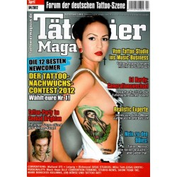Tätowier Magazin Nr.4 April 2012 - Model Kinia