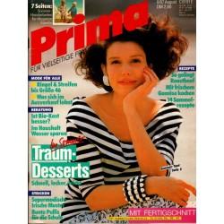 Prima 8/August 1987 - Hochsommerliche Tops
