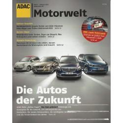 ADAC Motorwelt Heft.2 / Februar 2011 - Die Autos der Zukunft