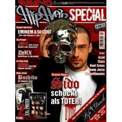 BRAVO Hip Hop Nr.1 / 5 Januar 2007 - Sido schockt als Toter!