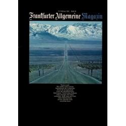 Frankfurter Allgemeine Heft 50 / Februar 1981 - Weites Land