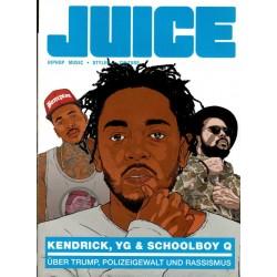 JUICE Nr.177 Sep./Okt. 2016 & CD 135 - Kendrick, YG, Schoolboy Q