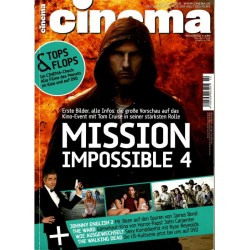 CINEMA 10/11 Oktober 2011 - Mission Impossible 4