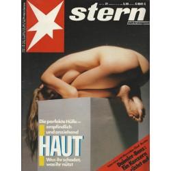 stern Heft Nr.31 / 28 Juli 1988 - Haut