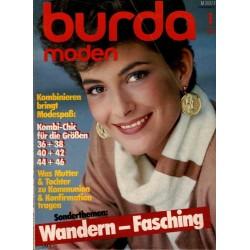 burda Moden 1/Januar 1984 - Wandern Fasching