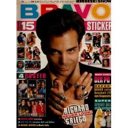 BRAVO Nr.22 / 27 Mai 1993 - Neuer Look! Richard Grieco