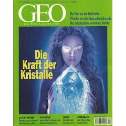 Geo Nr. 7 / Juli 2000 - Die Kraft der Kristalle