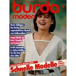 burda Moden 4/April 1984 - Junge Mode