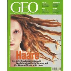 Geo Nr. 6 / Juni 2002 - Haare
