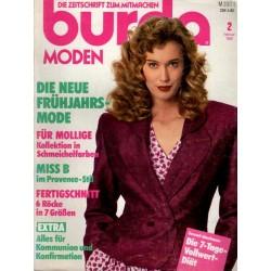 burda Moden 2/Februar 1989 - Die neue Frühjahrsmode