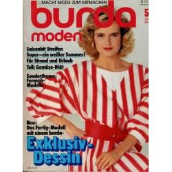 burda Moden 5/Mai 1984 - Saisonhit Streifen