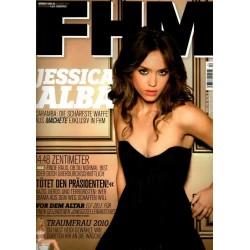 FHM Dezember 2010 - Jessica Alba