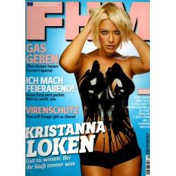 FHM April 2006 - Kristanna Loken