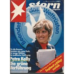stern Heft Nr.19 / 6 Mai 1982 - Petra Kelly die grüne Verführung