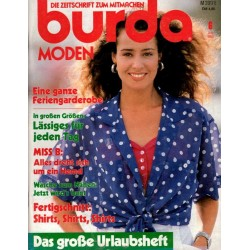 burda Moden 6/Juni 1989 - Feriengarderobe