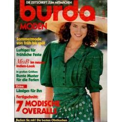 burda Moden 7/Juli 1989 - Sommermode