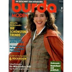 burda Moden 9/September 1989 - Herbstmode