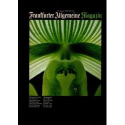 Frankfurter Allgemeine Heft 26 / August 1980 - Orchidee