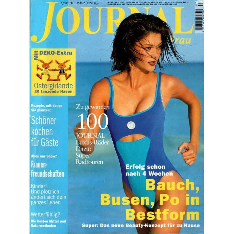 Journal Nr.7 / 18 März 1998 - Bauch, Busen, Po in Bestform