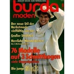 burda Moden 9/September 1984 - Der neue Stil