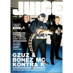JUICE Nr.174 Mai/Juni 2016 & CD 133 - GZUZ & Bonez MC...
