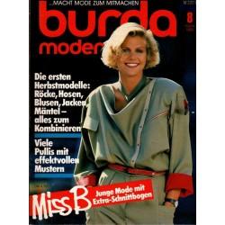 burda Moden 8/August 1984 - Die ersten Herbstmodelle