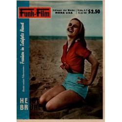Funk und Film Nr. 25 / 18 Juni 1960 - Heidi Brühl