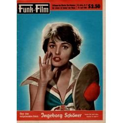 Funk und Film Nr.17 / 23 April 1960 - Ingeborg Schöner