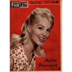 Funk und Film Nr.41 / 10 Oktober 1959 - Mylene Demongeot