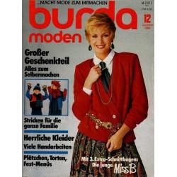 burda Moden 12/Dezember 1984 - Herrliche Kleider
