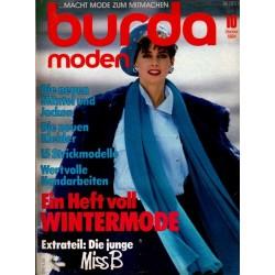 burda Moden 10/Oktober 1984 - Wintermode