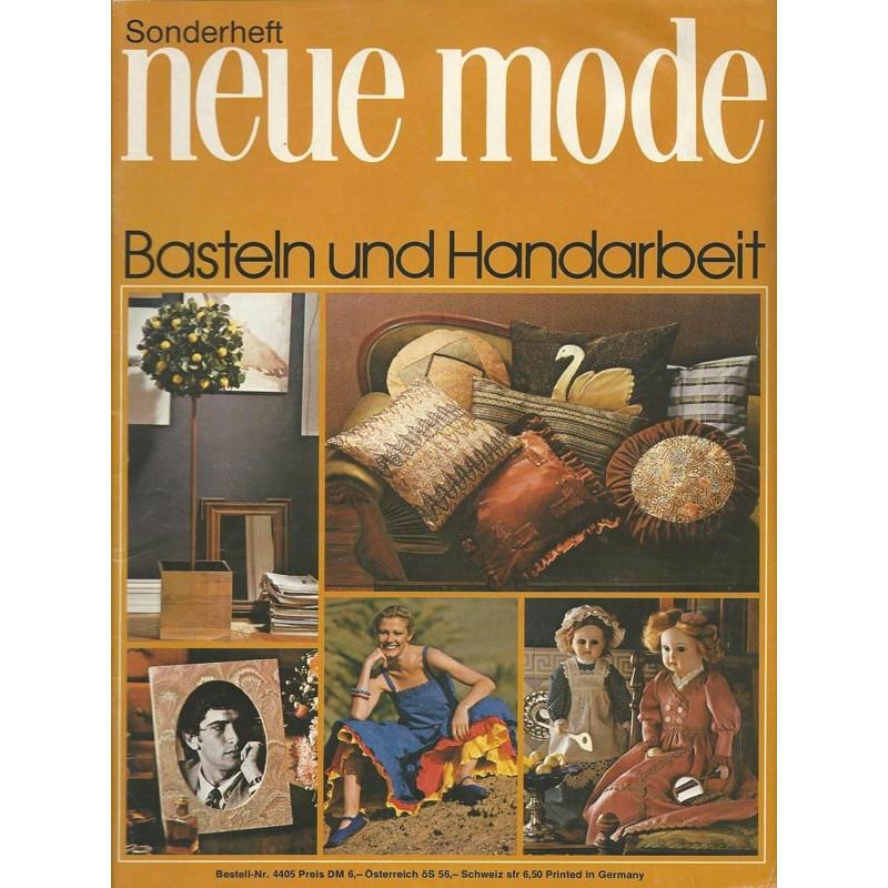 Neue Mode Sonderheft von 1979 - Basten und Handarbeit