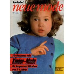 Neue Mode Sonderheft von 1985 - Kinder Mode