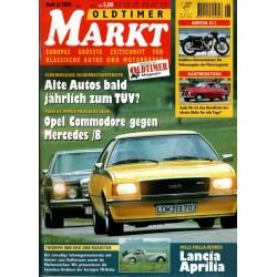 Oldtimer Markt Heft 6/Juni 2001 - Opel Commodore