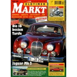 Oldtimer Markt Heft 3/März 1999 - Jaguar Mk2